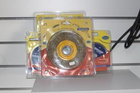Escova circular arame ondulado